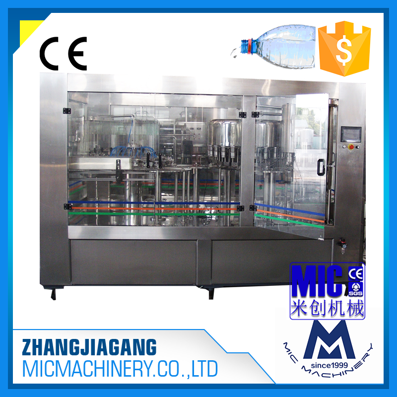 MIC-24-24-8 Micmachinery mineral water bottle filling machine