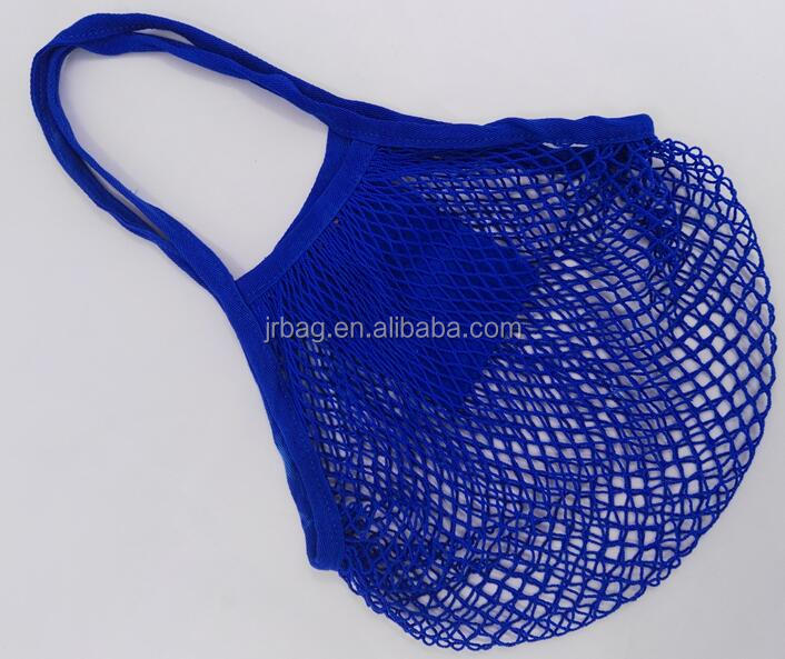 Reusable Grocery Tote String net Shopping Cotton Mesh Bags