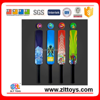 High Quality Sport Toys Plastic Cricket Bat with Ball For Kids