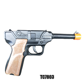 Toy gun manufacturer,Intelligent toys 90MM box packaged metal die-casting realistic ruger cap gun