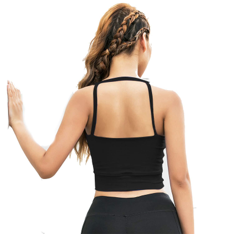 8e3bdeb009b Get Quotations · Freezing fishing-vests Sport Bras Women Yoga Bra Tank Top  Fitness Top Bra with Bra
