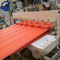 building materials ASA plastic pvc roof tile made in China