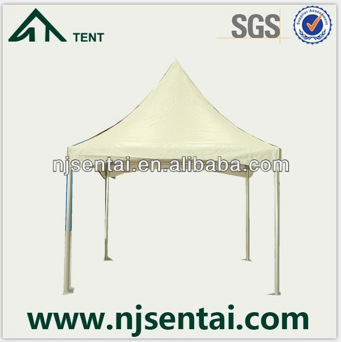2013 Hot Product pavilion 3x3 canvas pop up tent WITH aluminum roof coating