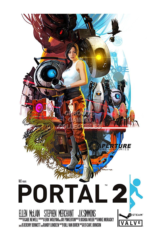 "CGC Huge Poster - Portal 2 PS3 XBOX 360 PC - POR008 (24"" x 36"" (61cm x 91.5cm))"