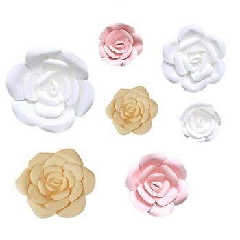 Sunbeauty Wholesale 3d Rose Paper Flower Backdrop Paper Flower Wall Decoration Buy Paper Flower Paper Flower Wall Paper Flower Backdrop Product On