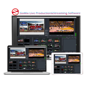 Free IP Video Mix and Switch Live Production Streaming Software Video Matrix Production Live Streaming IPTV