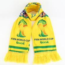 New product factory custom print mini banner soccer knitted scarf