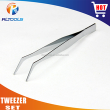 Professional factory high quality Cold-rolled Steel slanted tweezer set