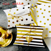wholesale luxury custom pillow packaging wedding favor candy gift box