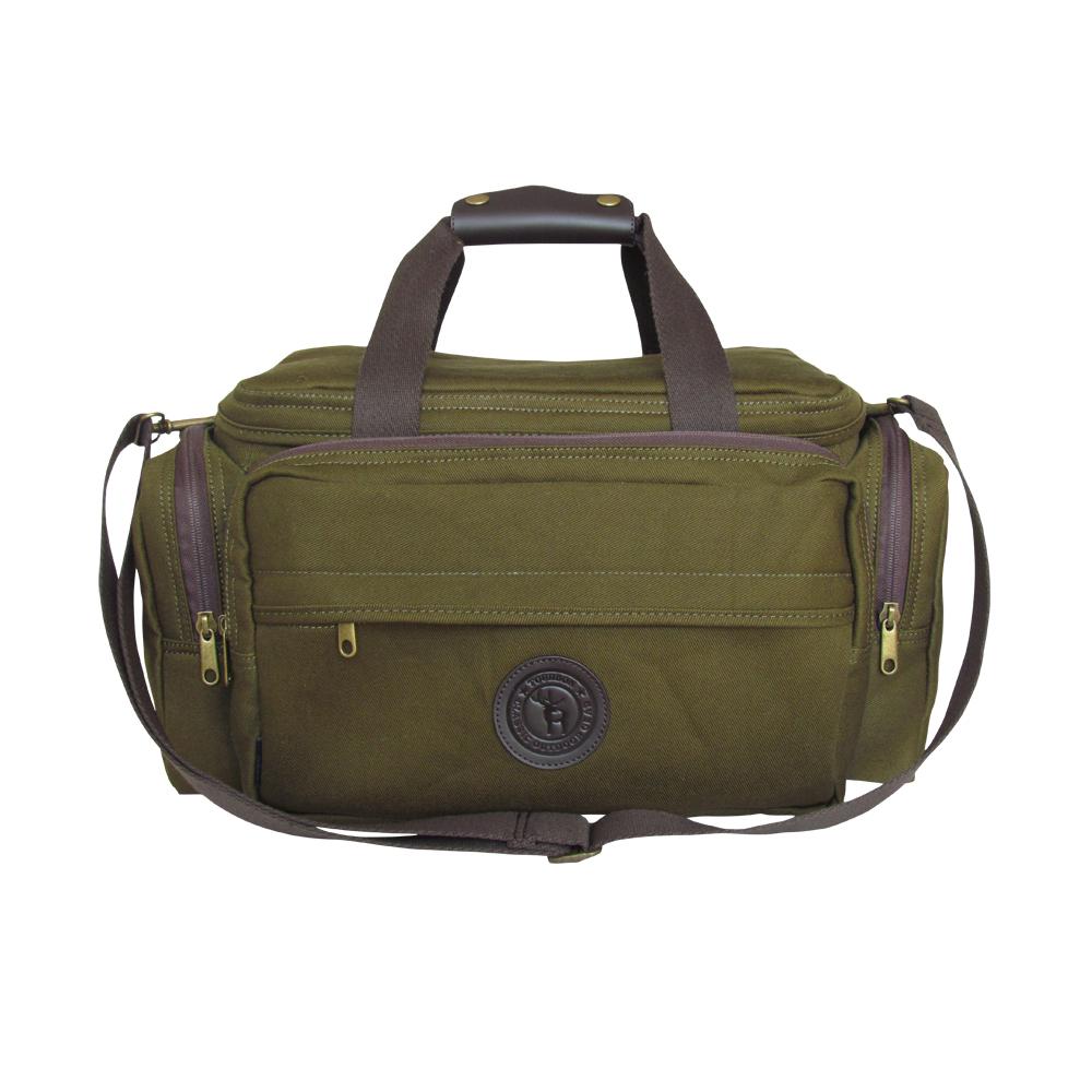 canvas and leather range bag hunting bag outdoor bag. Black Bedroom Furniture Sets. Home Design Ideas