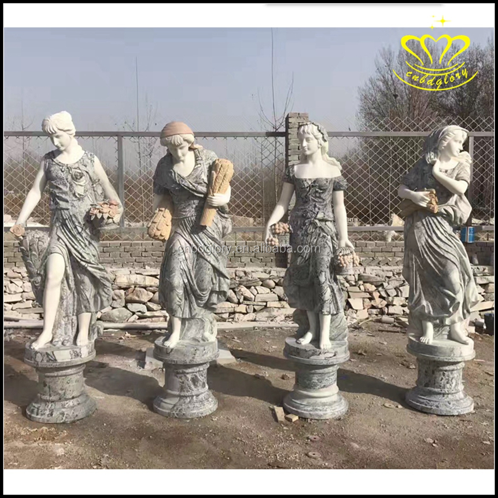 China suppliers New product shopping handcraft four seasons goddess Figure statue for sale