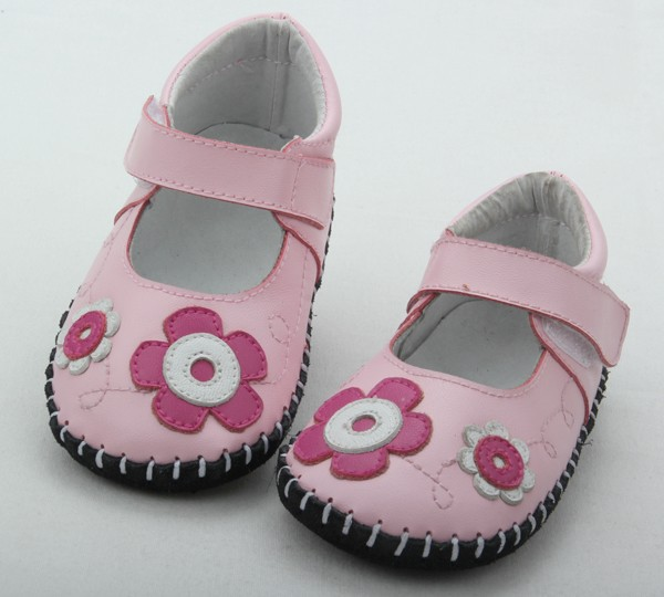 Shenzhen newly best selling baby shoes pattern Mary Jane