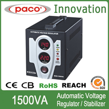 China well-known brand 230v AC adjustable voltage regulator MCD-1500VA with digital screen display and CE marks