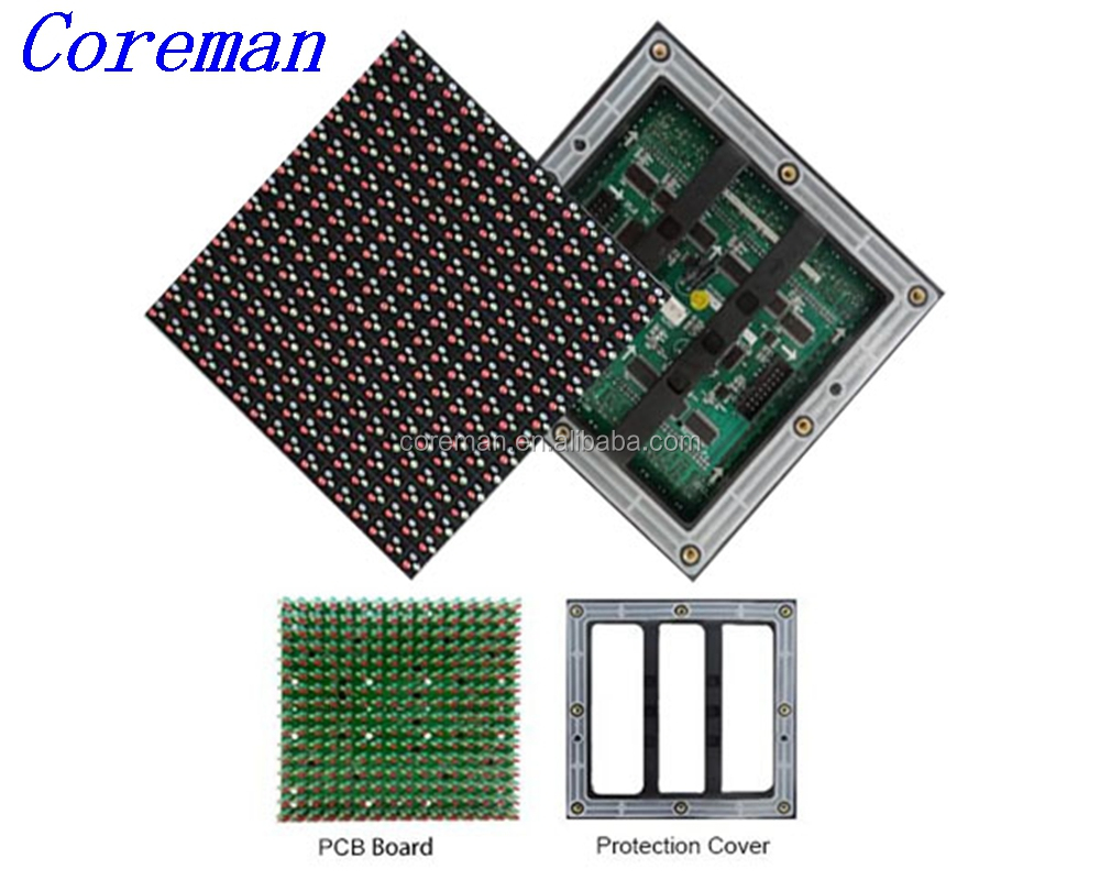 video viewing light weight cheap 16x16 rgb p10 led display module epistar led module p10 MBI MP p10 p12 p16