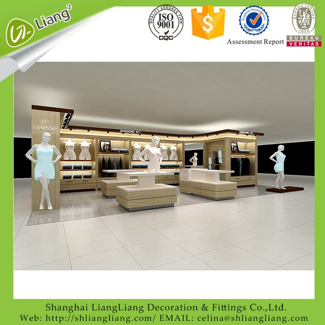store design for cosmetics retail shop layout