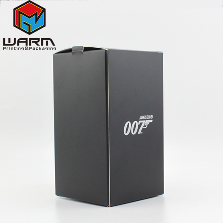 Professional OEM/ODM Manufacturer matt lamination silver foil stamp cosmetic packaging paper folding box printing