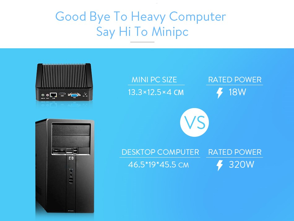 High-performance Powerful energy-saving CPUs mini pc for x30-n2830/n2840 hotel computer with 5*USB port