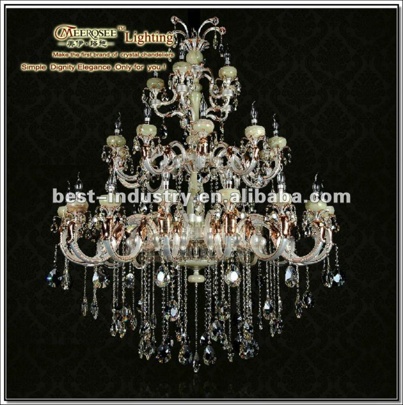Chinese princess: Top-class asfour crystal chandeliers and pendant lamp,for 5-star hotel decoration