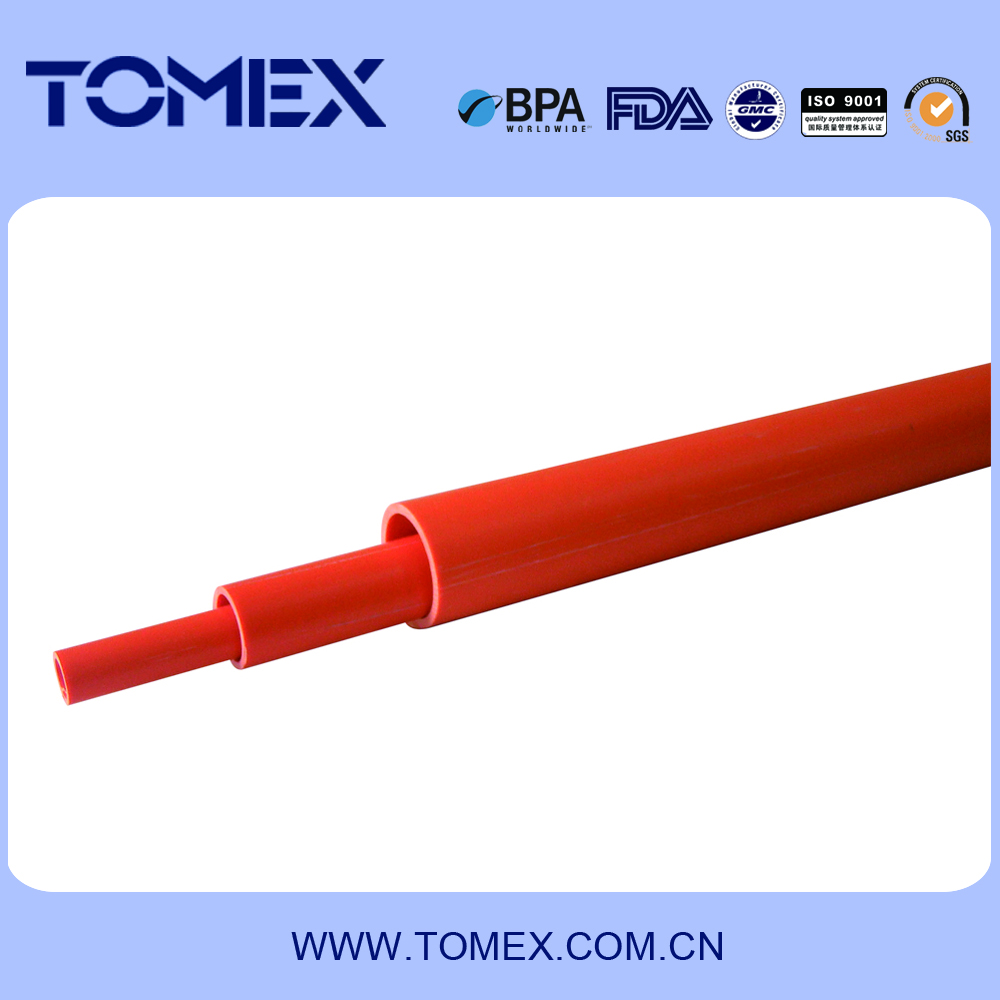 plastic panty tube PVC water supply pipe plastic tube