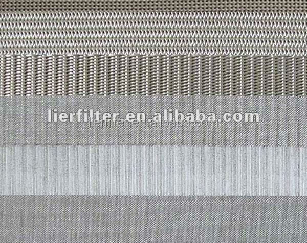 5-layer sintered wire cloth/Sitered flat filter wire mesh 316L