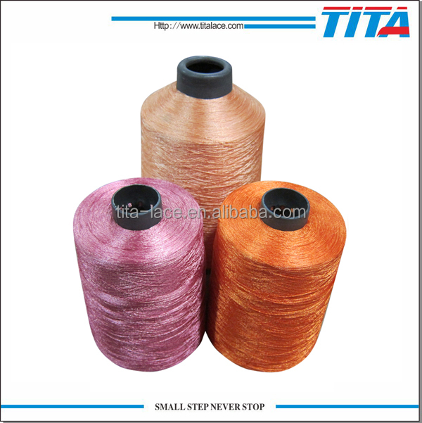 Plastic cone yarn embroidery threads for hand knitting
