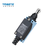 TMAZTZ TZ-8112 Limit Switch 250VAC/10A ME Series Waterproof with Plastic/Stainless steel roller
