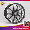 2015 ZUMBO IMG-9522 Aluminum 17 inch Top Quality Car Alloy Wheels