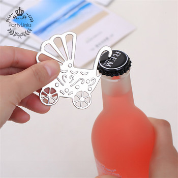 Indian Baby Shower Favors Recuerdo Baby Carriage Wine Bottle Opener Wedding Party Bridal Baby Shower Favor Guest Gift Present