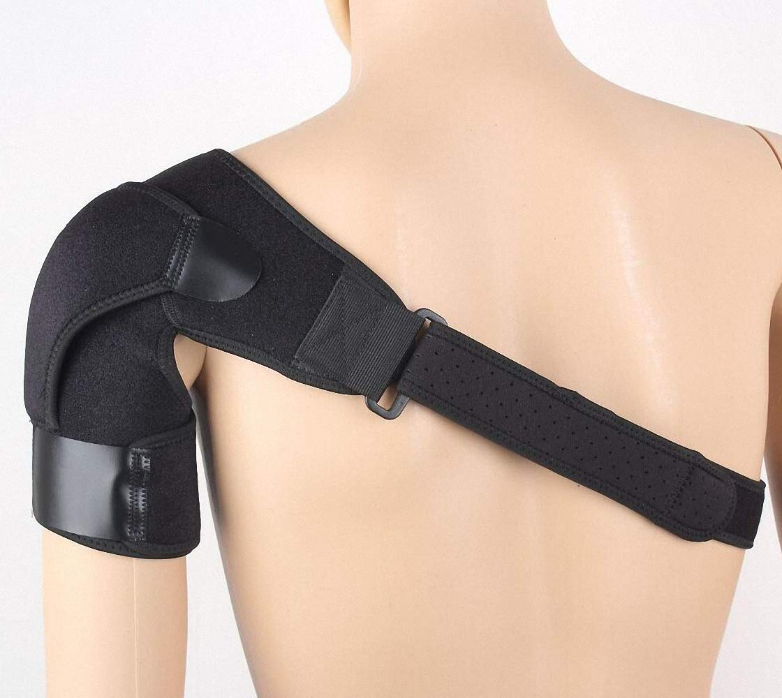 NACOLA Winter Warm Shoulder Therapy Support Brace Belt For Men Women Relieve Pain Nursing Sore Correct Rectify Posture