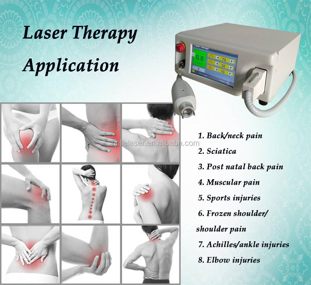 Pain relief laser therapy machine/modern medical equipments