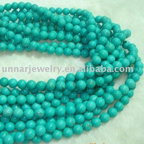 10mm ronda verde turquesa piedra preciosa gemas a granel for Piedra preciosa turquesa
