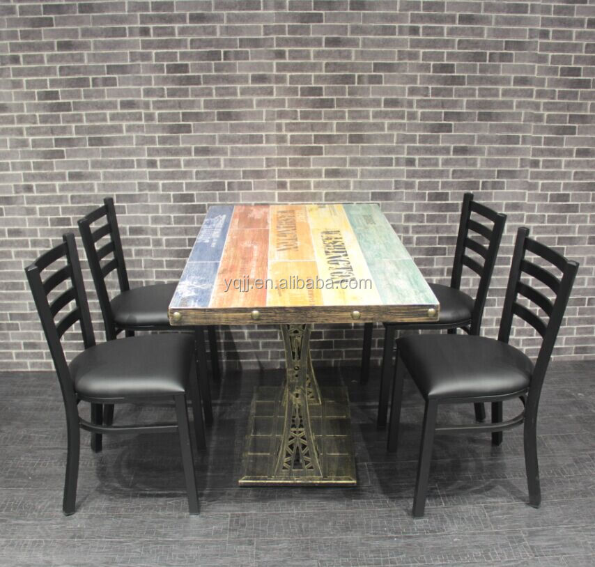 Table and chair restaurant opportunity Fast food restaurant chair and table