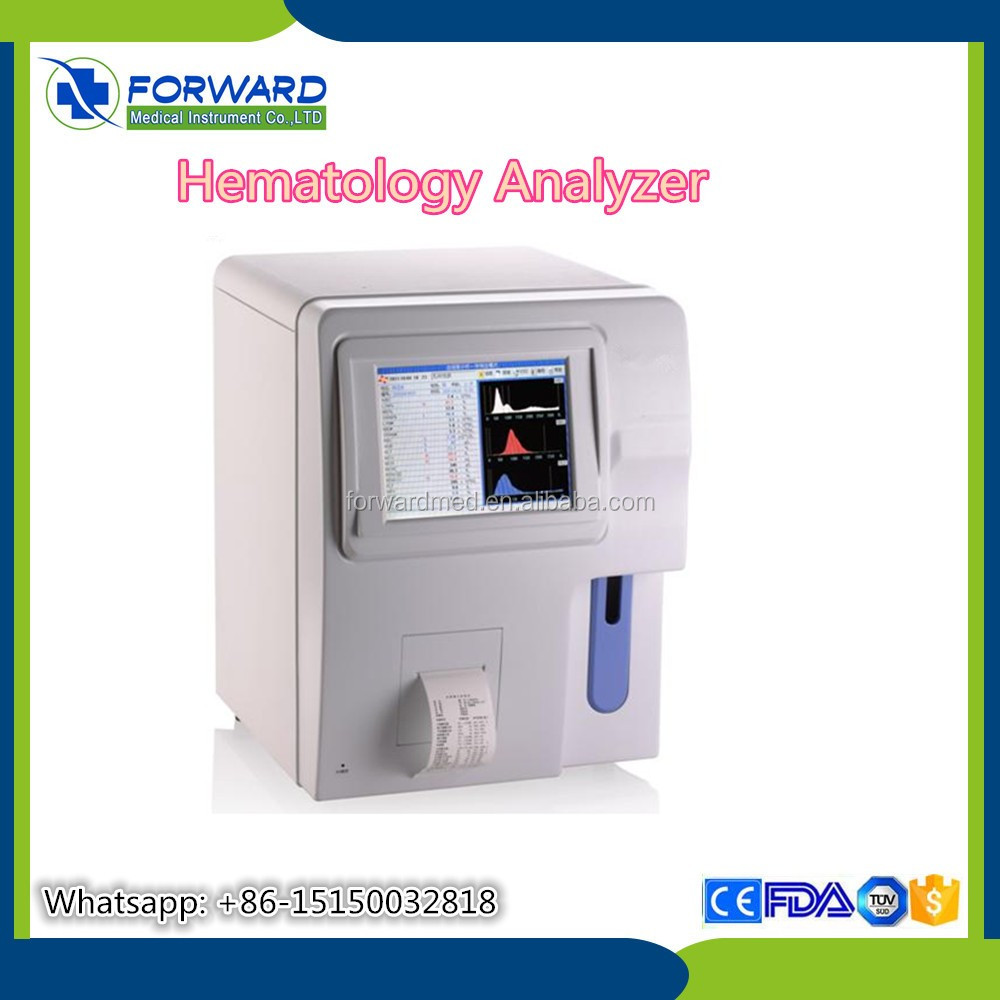 Blood Test Machine Hematology Analyzer 3 Part With Price Better Than Sysmex  With Full Open Reagent System - Buy Blood Test Machine Hematology Analyzer