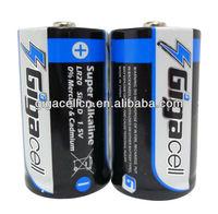LR20 Size D super alkaline battery AM1 battery