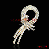 Shoes bags accessories wedding holding flower accessories Rhinestone Crystal Brooch Corsage full crystal brooches pins women