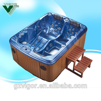 Outdoor Mini Jacuzzi.2 Person Jacuzzi Spa Fast2light