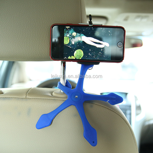 Gecko shaped 360 rotating degree self-timer car phone holder