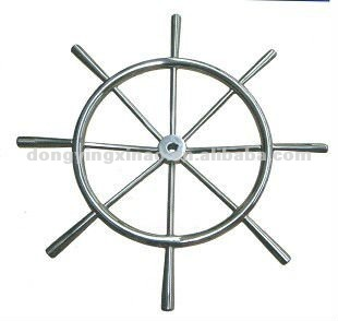 stainless steel steering wheel for ship
