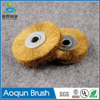 Factory customized small cooper wire brush