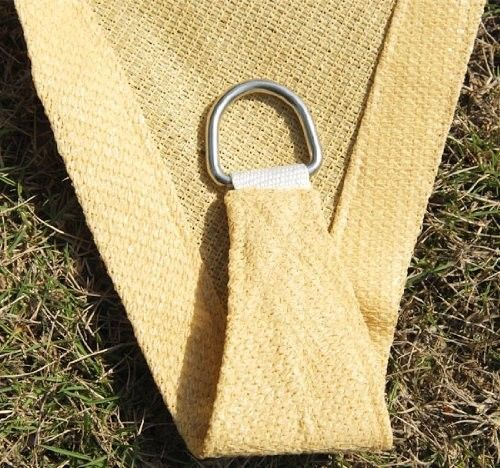Easy Gardener Sun Sail Triangle Shade Sail U0026 Fixings
