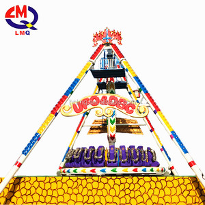 Extreme amusement park rides children toys big pendulum game