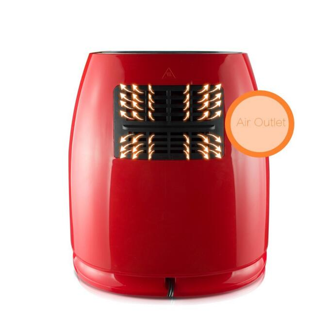 LED electronic control of mini air fryer