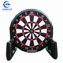 Promotional crazy game inflatable soccer darts,inflatable foot darts for sale