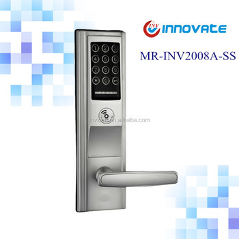 Home And Office Pin Code Door Key Card Lock