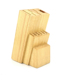 13 Piece Hardwood Home Wooden Knife Storage Block Stand Holder