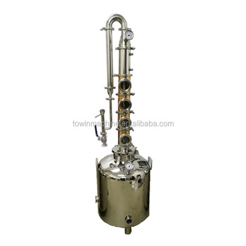 Towin 2in 3in 4in reflux copper columns alcohol distillation system