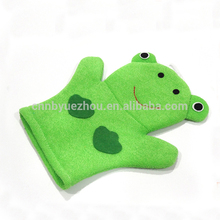 OEM promotional Body Scrub shower cartoon baby Bath Wash Mitt Glove