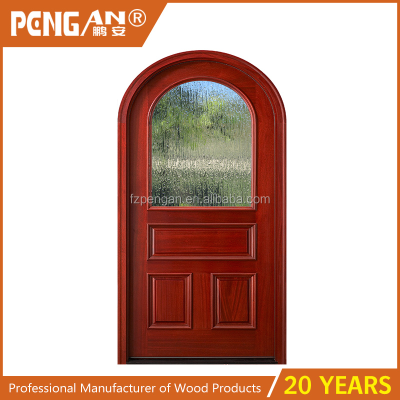 arched interior french door arched interior french frosted glass solid wood door