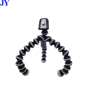 JingYing wholesale price smartphone small mini flexible octopus tripod for camera phone