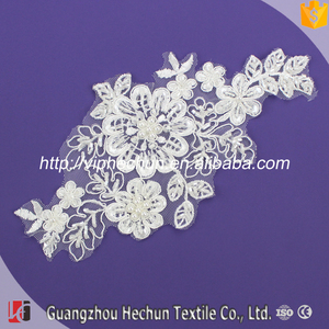 HC-1634 Hechun wholesale Good quality rhinestoneapplique embroidery designs trim